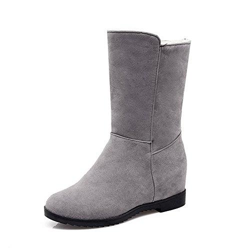 BalaMasa Abl10003, Sandales Compensées femme - Gris - gris,