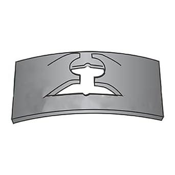 Carton C7000-1420-4 Tinnerman Style Flat-Type Spring Nuts//Steel//Black Phos 2,000 Pc 1//4-20