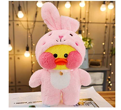 asdfkong Juguete De Peluche Cute Cafe Duck Stitch Muñecas De ...