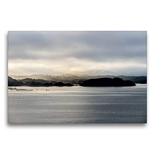 CALVENDO Toile de qualité supérieure - 75 x 50 cm - Impression sur Toile - Printemps Le Matin Nature
