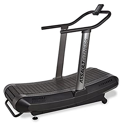 """Assault Airrunner By Fitness, Black Frame/Charcoal, 2"""" x 16.4'"""