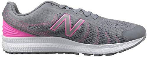 New Balance Unisex-Kinder Kjrus Laufschuhe Grey/Pink