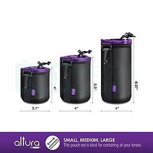 Bags Straps & Cases / Altura Photo Lens Pouch