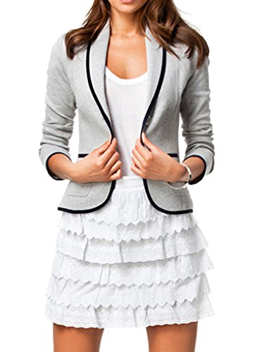 Choies Womens Blazer Office Casual