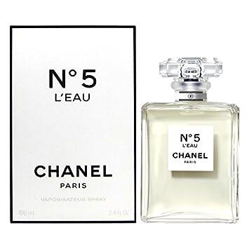 8741f3ad6ac C H A N E L No 5 L EAU EAU DE TOILETTE SPRAY WOMEN 3.4oz 100ml NEW NIB  Perfume
