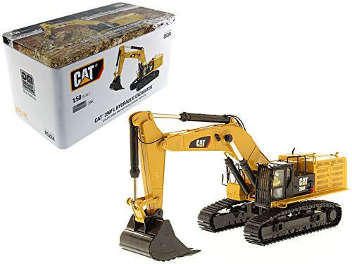 Diecast Masters CAT Caterpillar 390F LME Hydraulic Tracked Excavator with Operator High Line Series 1/50 Diecast Model