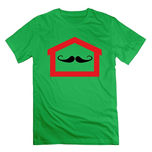 ForestGreen RMVEP Beard Inside House Men's Cool Short Sleeve T-Shirt Size M