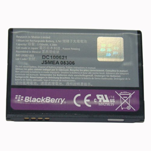 BlackBerry OEM F-M1 Battery Pearl 9100 9105 Style 9670 by BlackBerry (Image #1)
