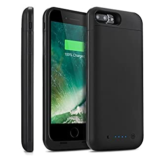 finest selection f75bc b14a0 iPhone 7 Plus 8 Plus Battery Case 7000mAh HETP Ultra Slim ...