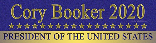 Cory Booker 2020 President of The United States Magnetic Bumper Sticker