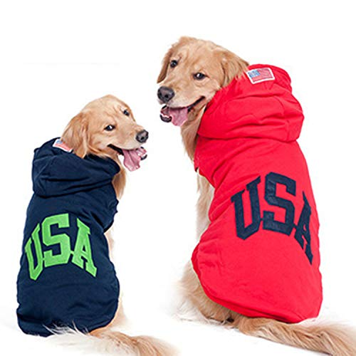 LOVEPET Dog Clothes Big Dog Autumn and Winter Clothing Medium and Large Dogs Golden Retriever Husky Samoyed Pet Clothing 2pcs by LOVEPET (Image #7)