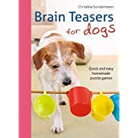 Brain Teasers for Dogs: Quick and Easy Homemade Puzzle Games