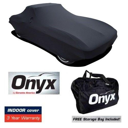 C2 CORVETTE HIGH END ONYX BLACK SATIN CUSTOM FIT STRETCH INDOOR CAR COVER FITS: All C2 63-67 CORVETTES