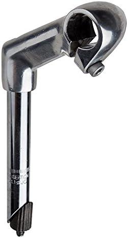 "Black Cruiser Bike Riser STEM 1/"" Handlebars Fork Vintage Schwinn Bicycle 21.1mm"