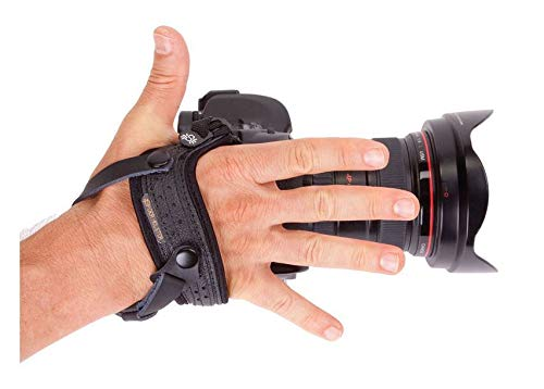 Spider Camera Holster SpiderPro Single Camera System v2 (SCS) with Leather SpiderPro Hand/Wrist Strap Bundle by SpiderHolster (Image #9)