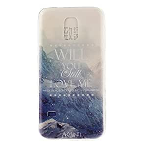 zxc Samsung Galaxy S5 Mini Graphic TPU Back Cover