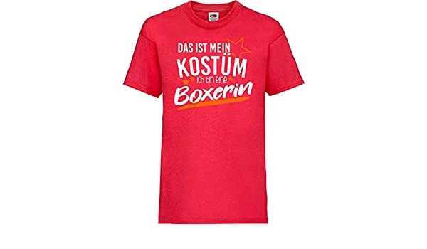 camiseta de niño Carnaval Verkleidet als Boxeadora Disfraz De ...