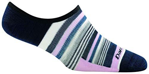 Darn Tough Topless Muliti Stripe No Show Hidden Light Socks - Women