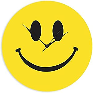 KK CRAFT smilie wall clock