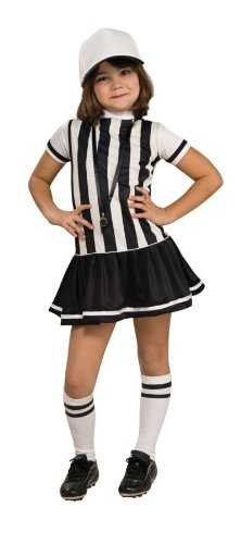 Baby Referee Halloween Costume (REFEREE CHILD MEDIUM)