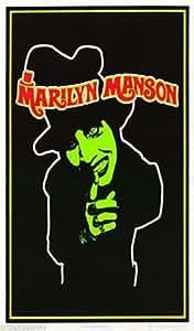 Poster:Music: Marilyn Manson - Blacklight & Flocked - 1694F Rp61 H