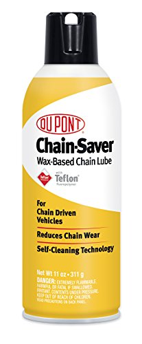 DuPont Teflon Chain-Saver Dry Self-Cleaning Lubricant, 11-Ounce (Chain Lube Motorcycle)