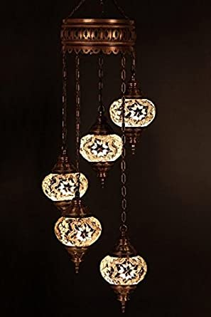 Chandelier ceiling lights turkish lamps hanging mosaic lights chandelier ceiling lights turkish lamps hanging mosaic lights pendant white glass mozeypictures Images