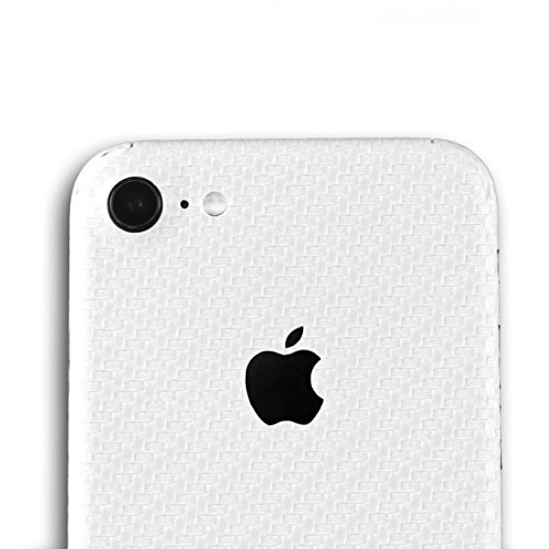 AppSkins Rückseite iPhone 7 Full Cover - Carbon pearl