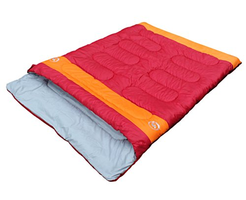 Famous Juggle 14_~40_~60_ Double Sleeping Bag & unzipped into 2 individual sleeping bags