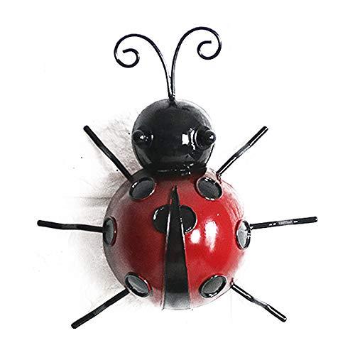 [해외]무당벌레 벽 장식 철 3D 무당 벌레 장식 장식 철 공예 벽 매달려 집 장식 / Ladybird Wall Decor Iron 3D Ladybug Ornament Decorative Iron Crafts Wall Hang Home Decoration