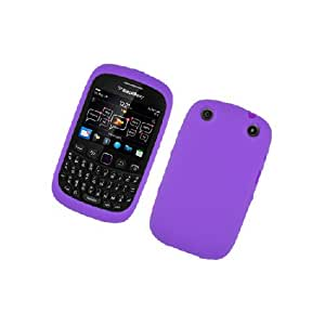 BlackBerry Curve 9310 9320 Purple Soft Silicone Gel Skin Cover Case