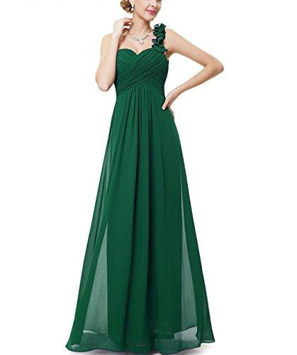Ysmo - Vestido - trapecio - para mujer verde verde 46