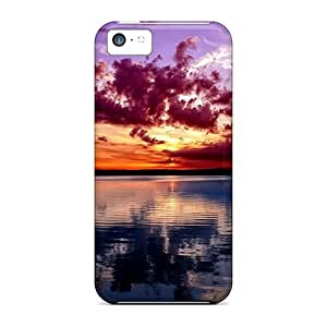 Series Skin Case Cover For Iphone 5c(violet Sky)