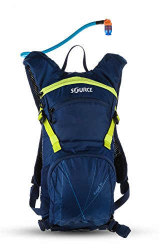 SOURCE Rapid Backpack Trinkrucksack 3 L Dark Blue/Green 2017 Outdoor-Rucksack damen herren