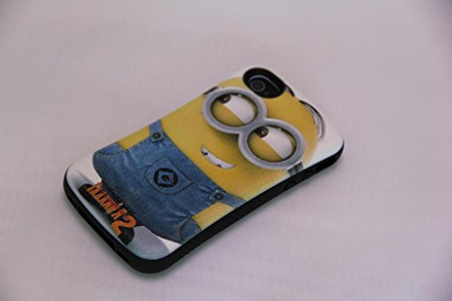Huaxia Datacom Despicable Me Minions First Class Anti-Shock Urethane Bumper iFace Mall Case for iPhone 4/4S - Despicable 02