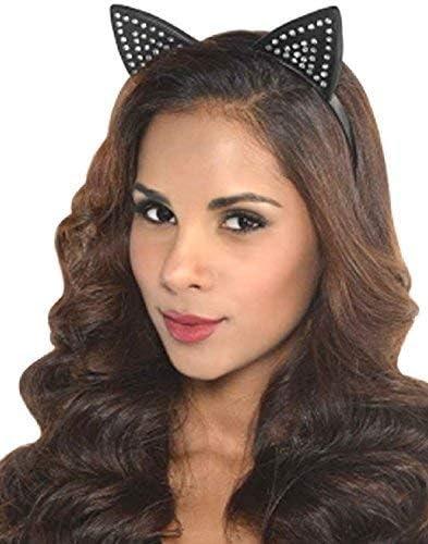 Girls Cat Ears Headband Kids Adults Fancy Dress Hen Night Party Costume Hairband