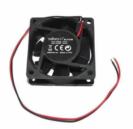 Velleman 60mm square high velocity fan