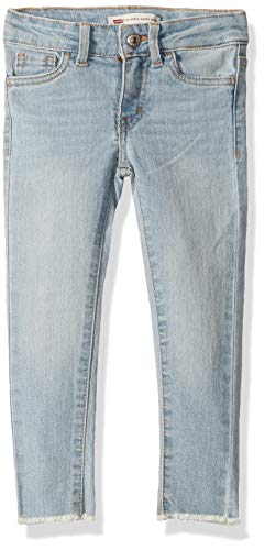 Levi's Girls' Toddler 710 Super Skinny Fit Classic Jeans, Sixteen, 3T