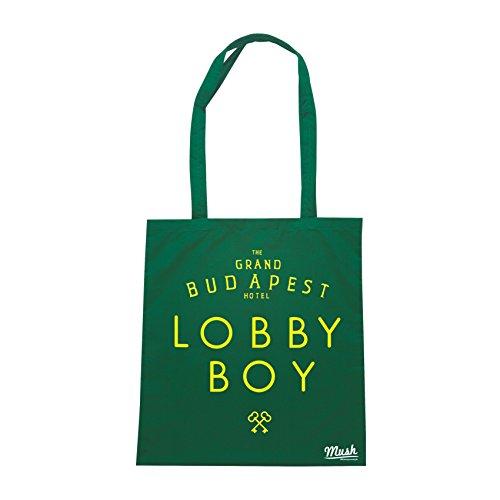 Borsa THE GRAN BUDAPEST HOTEL- LOBBY BOY DIVISA - Verde Bottiglia - FILM by Mush Dress Your Style