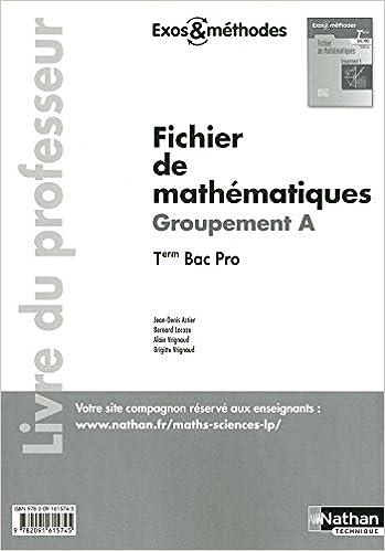 Livre gratuits Fichier de Mathématiques pdf, epub ebook