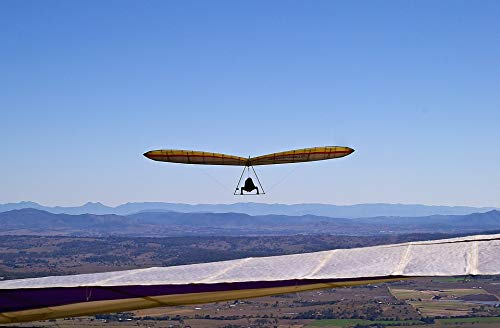 Photography Poster - Hang-Glider, Glider, Flying, 24''x16'', Gloss Finish by VintPrint