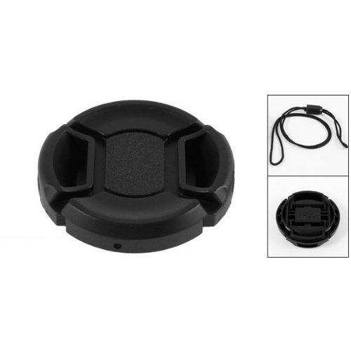 TOOGOO(R) Univeral 37mm Center Pinch Front Lens Cap for DSLR Camera