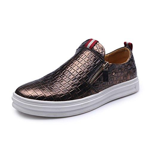 Sport De Plein Air Pour Hommes Running Chaussures De Marche Chaussures De Sport Légères 1688 Bronze