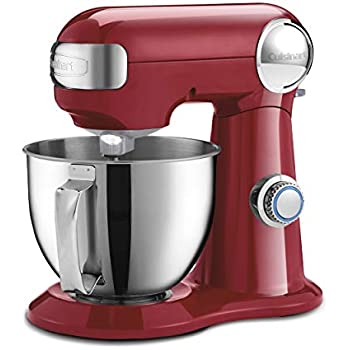 Cuisinart SM-35R Precision Master 3.5 Quart (Ruby Red) stand mixer,