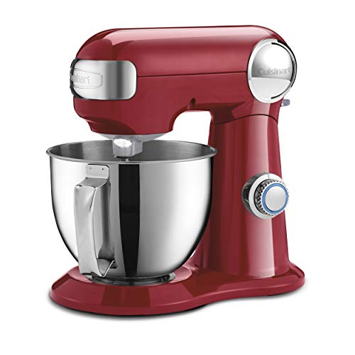 Cuisinart SM-35R Precision Master 3.5 Quart (Ruby Red) stand mixer, (Cuisinart Stand Mixer Paddle)