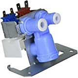 NEW Replacement Part - GE Refrigerator Dual Solenoid inlet Water Valve Part# WR57X10051