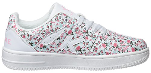 Kelme multicolore estampado donna da basse 67 Retrobasket Sneakers Flowers 1War1qI