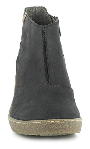 41 Stivaletto A N5171 Con Donna Nero Zip Pleasant Black lichen Tacco w6CSCAqX