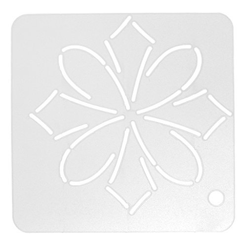 Jili Online New Stencil Plastic Quilting Templates Quilt Tool for Patchwork Sewing Craft 14#