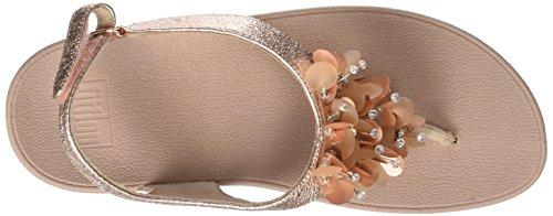 Vibrazione Delle oro Rosa Fitflop 323 Sandalo Di Flop Donne Tm Boogaloo Indietro Rosa XBwUqIaFn